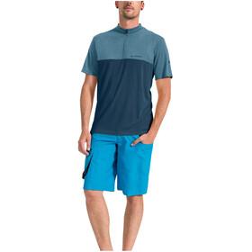 VAUDE Tremalzo V Shirt Men blue grey